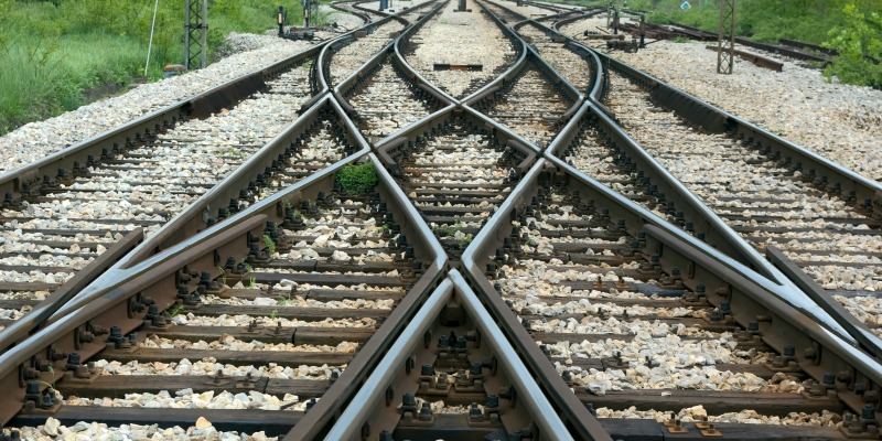 Railway tracks 800-400
